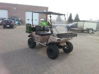 Off road buggy/golf cart