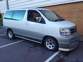 Nissan ELGRAND 3.3TD 8 SEATER VERY RARE EXAMPLE 1997 FRESH IMPORT