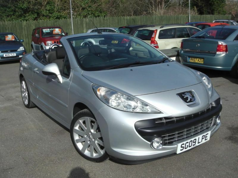2009 peugeot 207 gt coupe cabriolet convertible petrol in saltford bristol gumtree. Black Bedroom Furniture Sets. Home Design Ideas