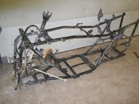 Yamaha Grizzly 660 Frame and Parts, parting out atv