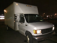 2004 Ford E-450 Diesel a/c,15ft box,rear camera,Very Clean !