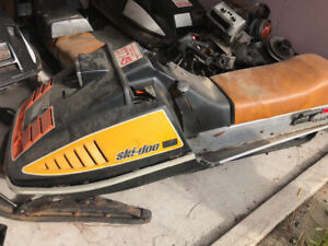 Ski-doo's TNT, Everest sleds and parts for sale