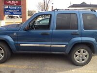 Great buy!!! 2006 jeep liberty limited