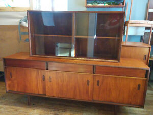 Punch Design Teak buffet and hutch