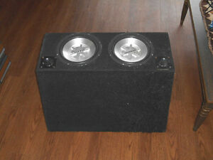 Car Box + Amplifier + Subwoofers