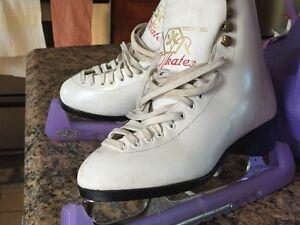 Girls Figure Skates Size 4