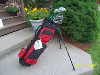 Women's Right Hand 12-pc Golf Clubs Set (Browning Mirage) & Bag