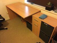 Large Modern Corner Desk - Great Condition £90