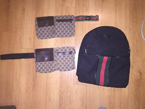 Gucci bag trio