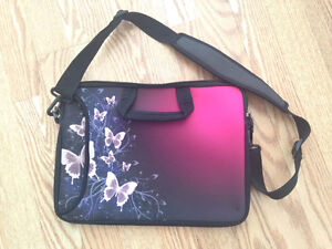 """NEW 13"""" laptop soft sleeve bag (Butterfly)"""