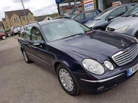 Mercedes-Benz E320 3.0TD 7G-Tronic CDI Elegance ESTATE - 2005 55-REG -6 MTHS MOT