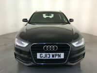2013 AUDI A4 S LINE TDI DIESEL ESTATE 174 BHP SERVICE HISTORY FINANCE PX WELCOME