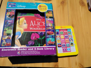 Disney Electronic Reader with 8 Books