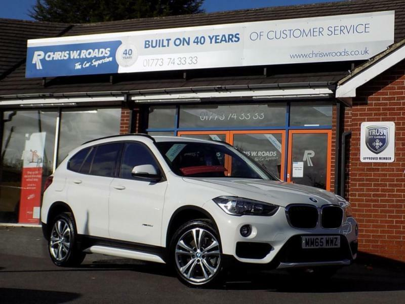 2015 65 BMW X1 2.0 XDRIVE20D SPORT 5DR AUTO (188) * NAV LEATHER * DIESEL