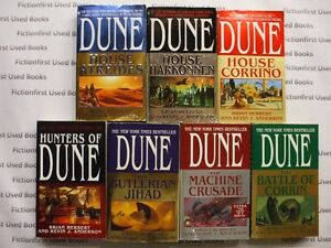 """Legends of Dune Series"" by: Brian Herbert & Kevin J. Anderson"