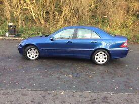 Mercedes c180 elegance ,automatic,1.8 petrol,£1999,56 Reg.