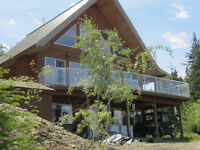 Lake front home on Quesnel Lake BC. Full time or seasonal