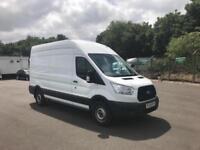 Ford Transit 350 L3 H3 VAN 125PS EURO 5 DIESEL MANUAL WHITE (2015)
