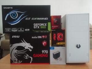 FX-6300 Six Core 3.50Ghz 16GB 1.5TB GTX 960 4GB