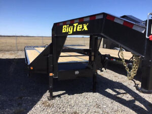 REDUCED -Big Tex 22GN HD 25ft + 5ft Tandem Dual Axle G/N - 10233