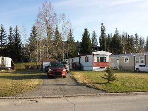 MOBILE HOME ON IT'S OWN FULLY SERVICED LOT IN ELKFORD, BC