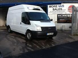 2013 1 owner Ford Transit 2.2TDCi ( 125PS ) lwb fridge van export??