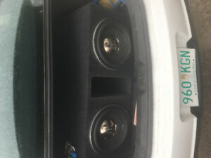Selling 2 12 Jbl subs and an 1500 Watt Memphis PRX amp for $1500