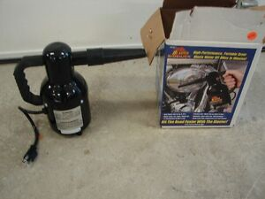 For Sale is a Motor Cycle Dryer