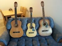 For Sale : 3 Classical  Guitars !!!!!!!!!!!!!!
