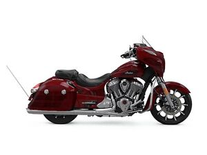 2017 Indian Motorcycle Chieftain Elite Fireglow Red Candy w/ Mar