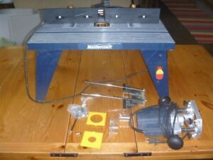 Mastercraft plunge router buy or sell tools in ontario kijiji router table with mastercraft plunge router keyboard keysfo Images