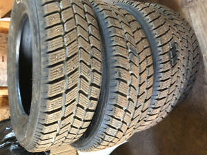 4 winter tires with studs used 1 season 100.00 or best ofter