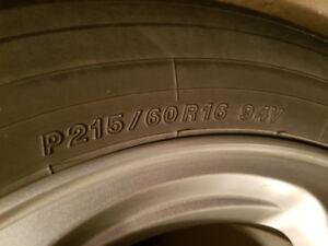 Yokohama Tires With Mags/Pneus Yokohama Avec Mags