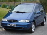 FORD GALAXY 2.2 7SEATER. FULL MOT. TOW BAR. TINTED WINDOWS