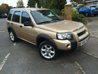 LEFT HAND DRIVE Land Rover Freelander 2005 LHD
