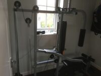 Multi gym weight bench