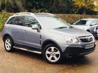 2010 Vauxhall Antara 2.0CDTi 16v Auto SE Diesel Grey only 84k Miles FSH TOP SPEC