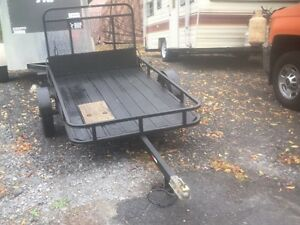 4x7 Utility Trailer with Ramp.