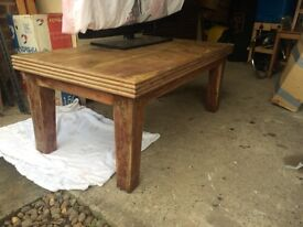 Table very heavy great£15 project to paint chabby chic