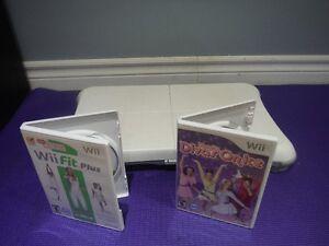 Wii-Fit plus + 2 jeux