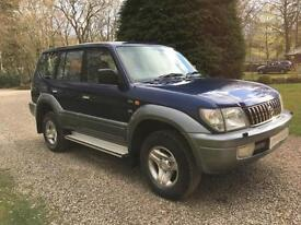 STUNNING TOYOTA LANDCRUISER COLORADO 3.0 D-4D GX MANUAL LWB 2002MY GREAT COLOUR