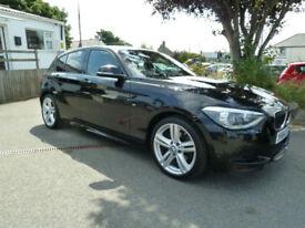 2014/64 BMW 1 Series 120d 184bhp M Sport 5dr with SatNav~Xenons~DAB.