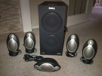 Altec Lansing  5 speakers and sub-woofer for computer