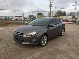 2013 FORD FOCUS TITANIUM ★ NAV ★ REMOTE START ★ LEATHER