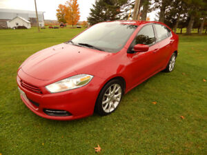 2013 Sporty Dodge Dart SXT 2.0L 4Cyl / Super Clean / New MVI
