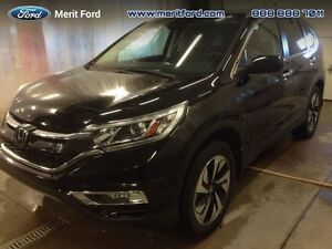 2015 Honda CR-V Touring  - local - trade-in - sk tax paid - non-