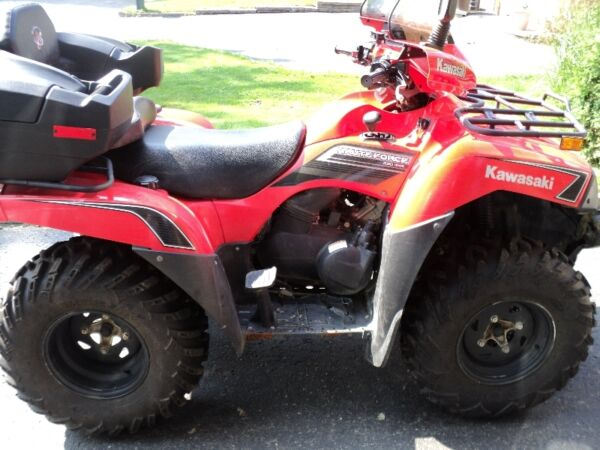 Used 2009 Kawasaki KVF Brute Force