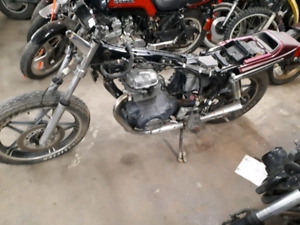 1983 Honda CB450 parts bike
