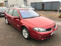 Renault Laguna 1.9 DCI Iniciale Estate, Top Of The Range* Sat Nav, Glass Roof, Alloys Warranty