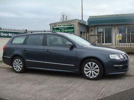 Volkswagen Passat 1.6TDI ( 105ps ) Tech 2009MY Bluemotion GUARANTEED CAR FINANCE